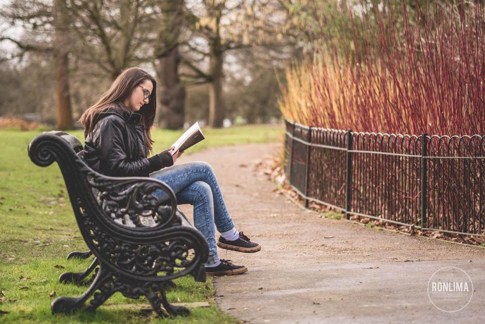 fotografia de família em Greenwich Park em Londres