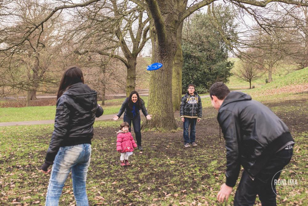 ensaio de família em Londres