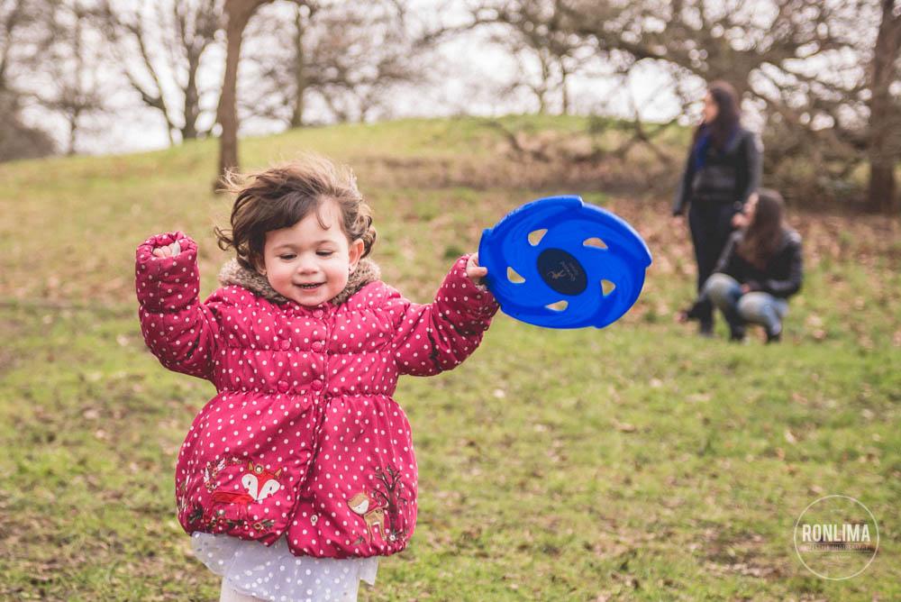 foto de família em Greenwich Park