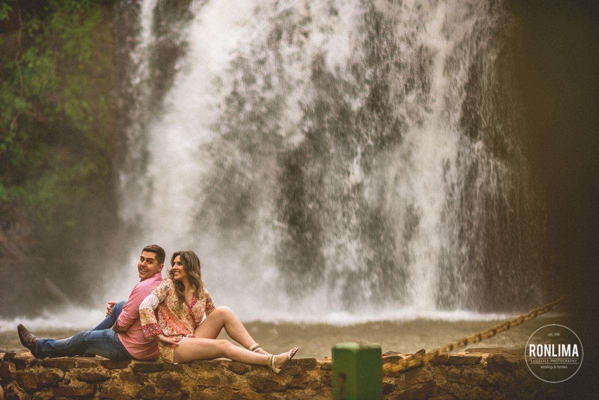 foto pre wedding cachoeira Erechim