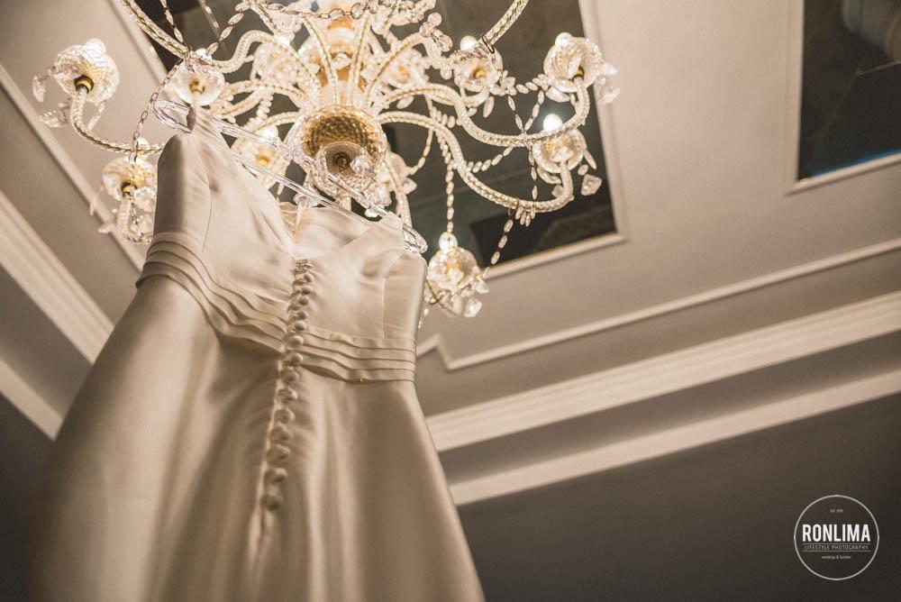 foto do vestido de noiva