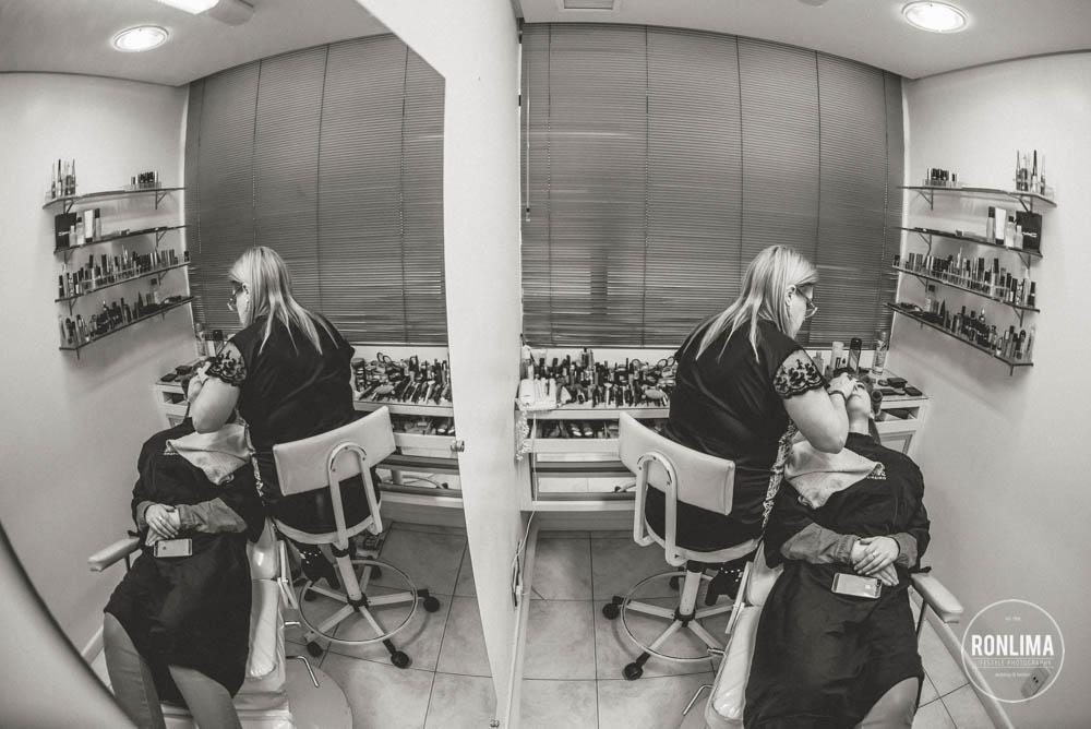 foto da maquiagem da noiva