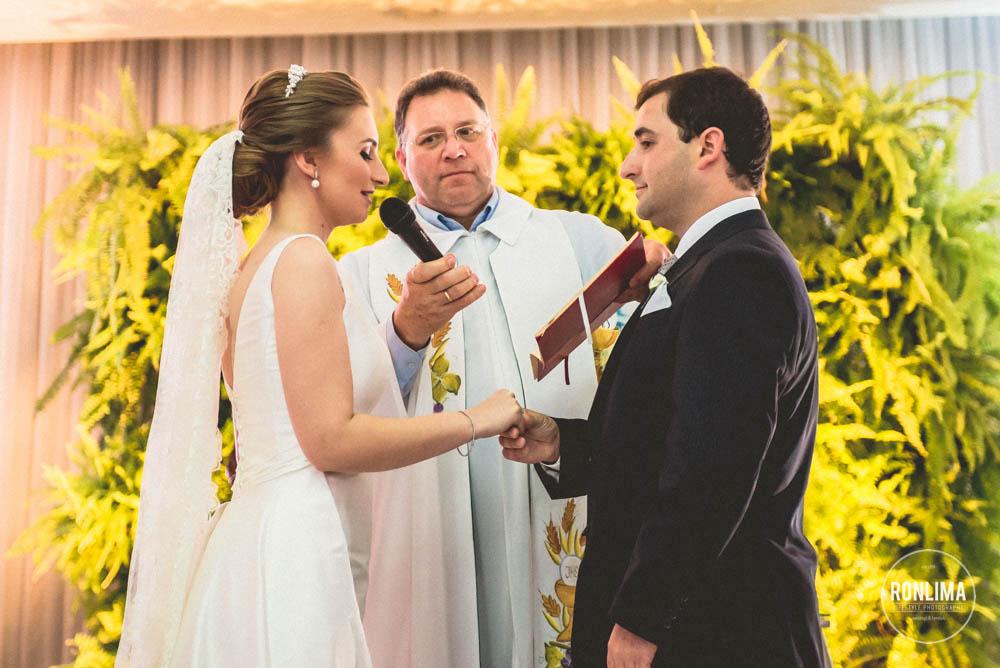 foto votos dos noivos
