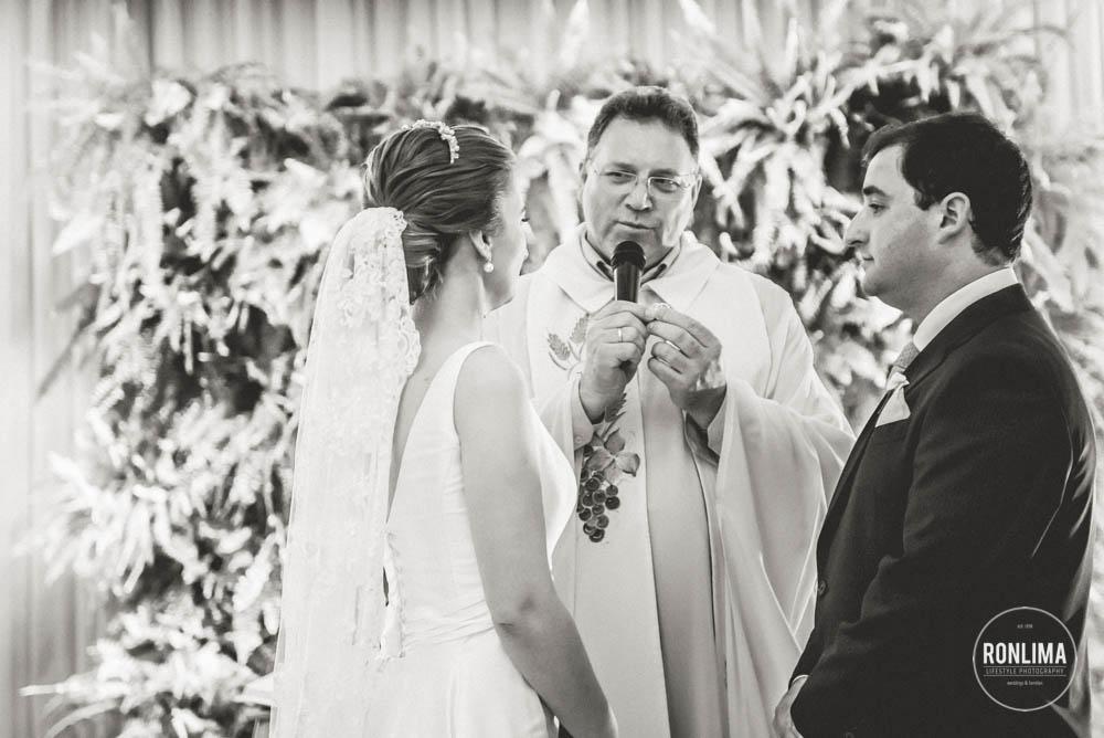 bencao das alianças no casamento