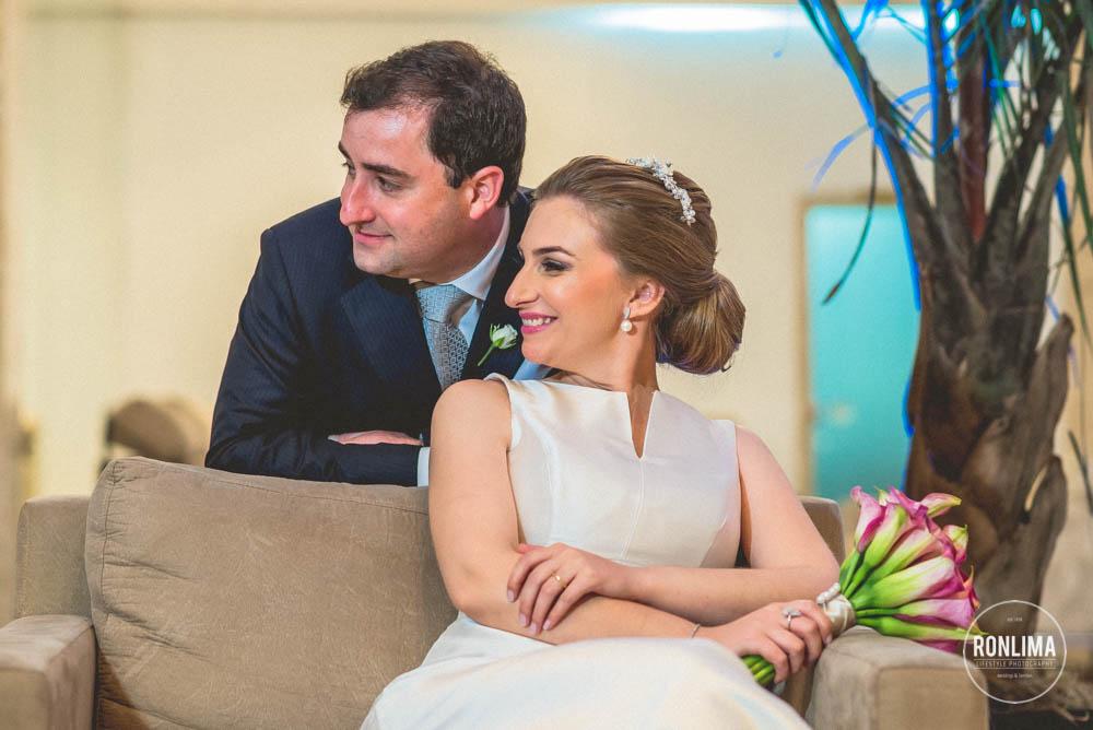 foto dos noivos no dia do casamento