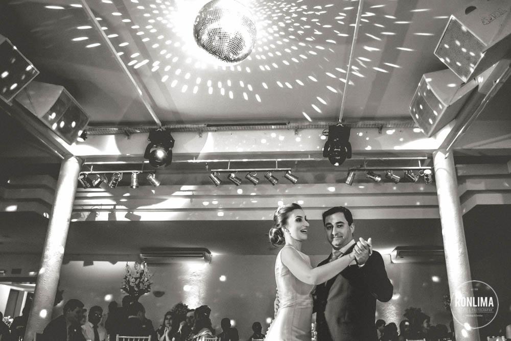 dança dos noivos na recepção em passo fundo