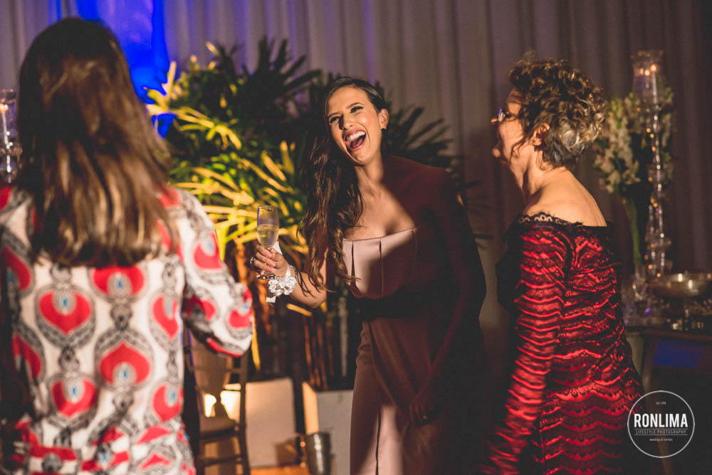 convidados do casamento em passo fundo