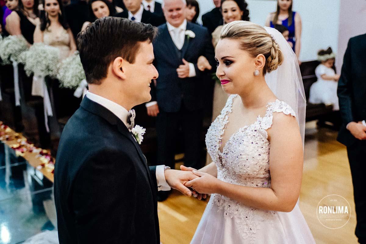 Cerimônia de casamento em Carazinho