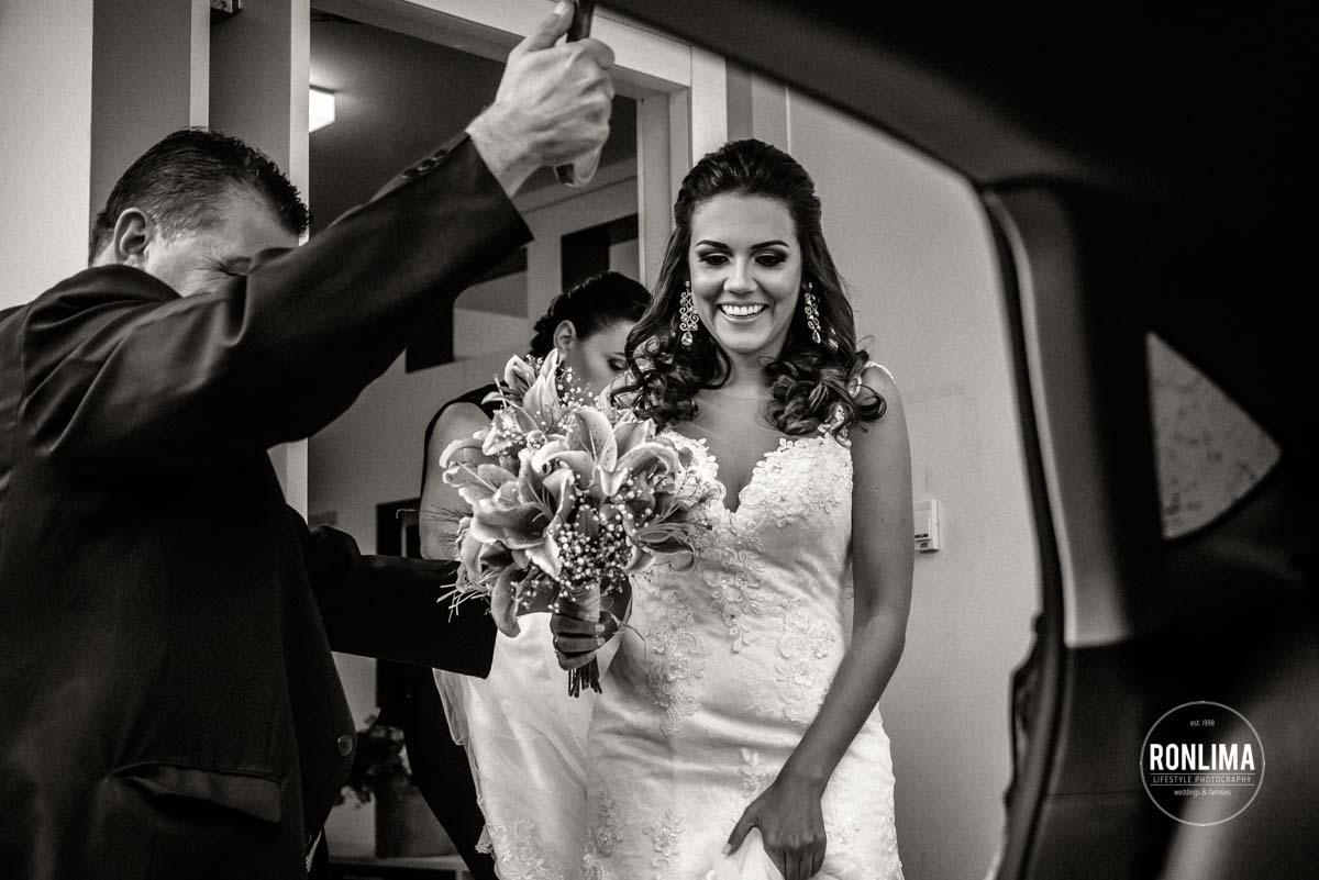 Casamento em dia de chuva