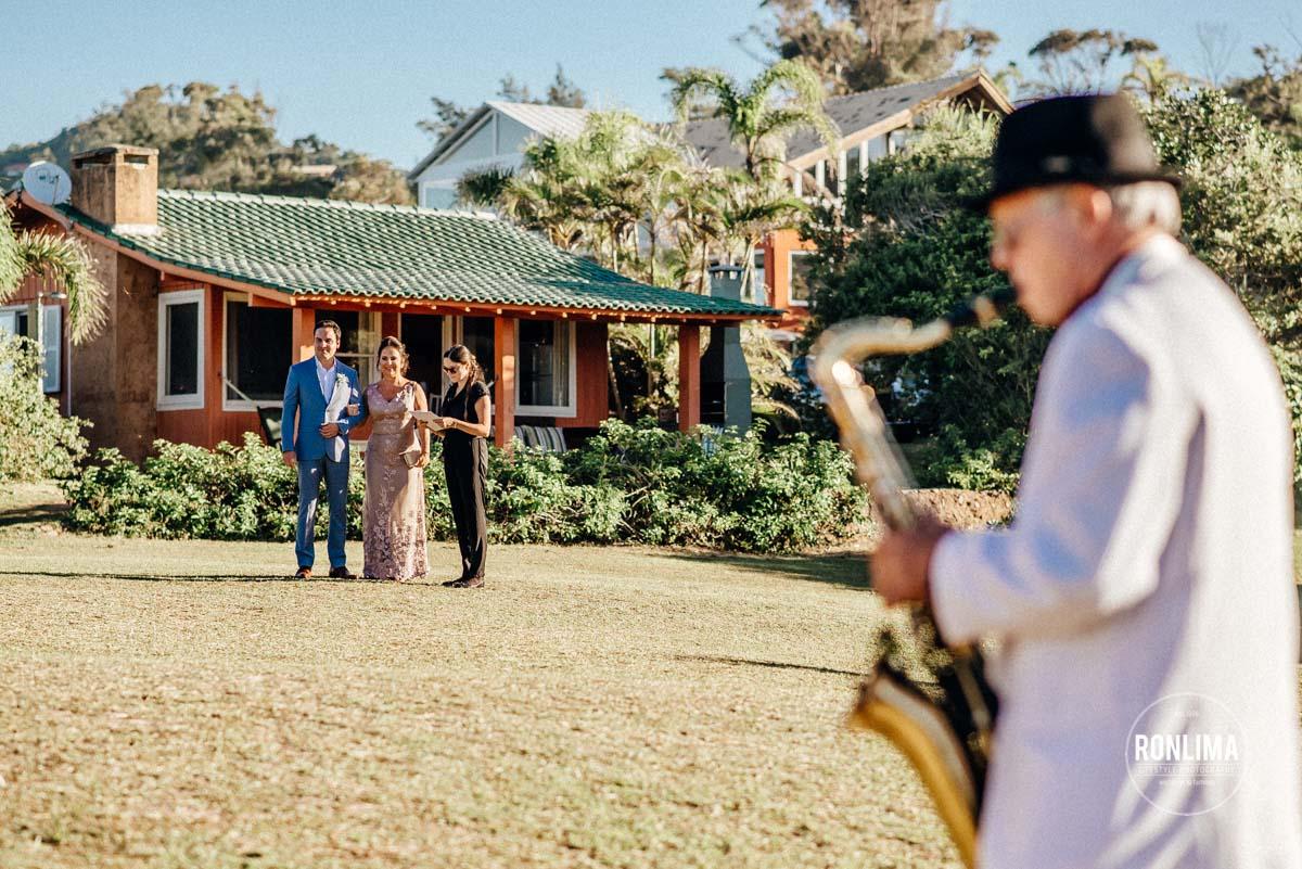 Casamento na Praia do Rosa