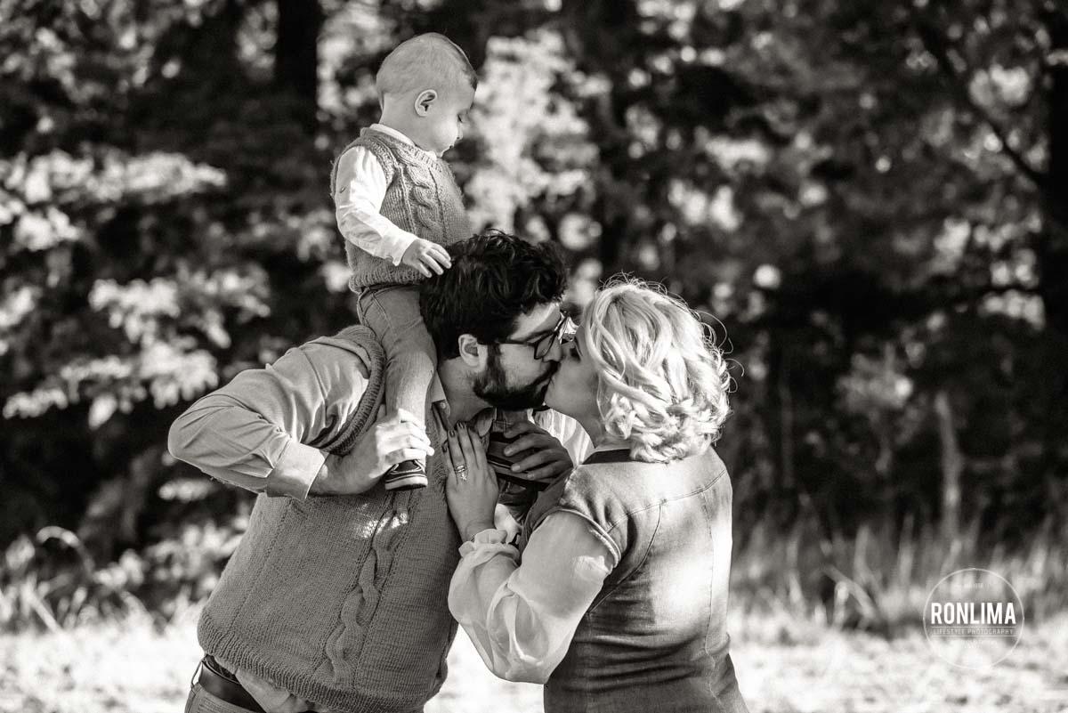 Foto de família em Passo Fundo