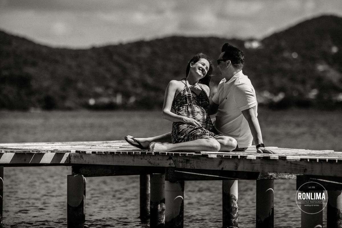 Ensaio Gestante na Lagoa da Conceição em Florianópolis
