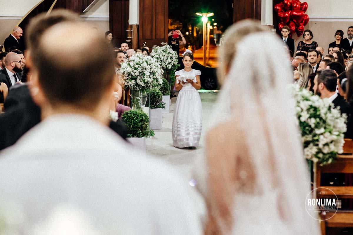 Cerimônia de casamento em Passo Fundo
