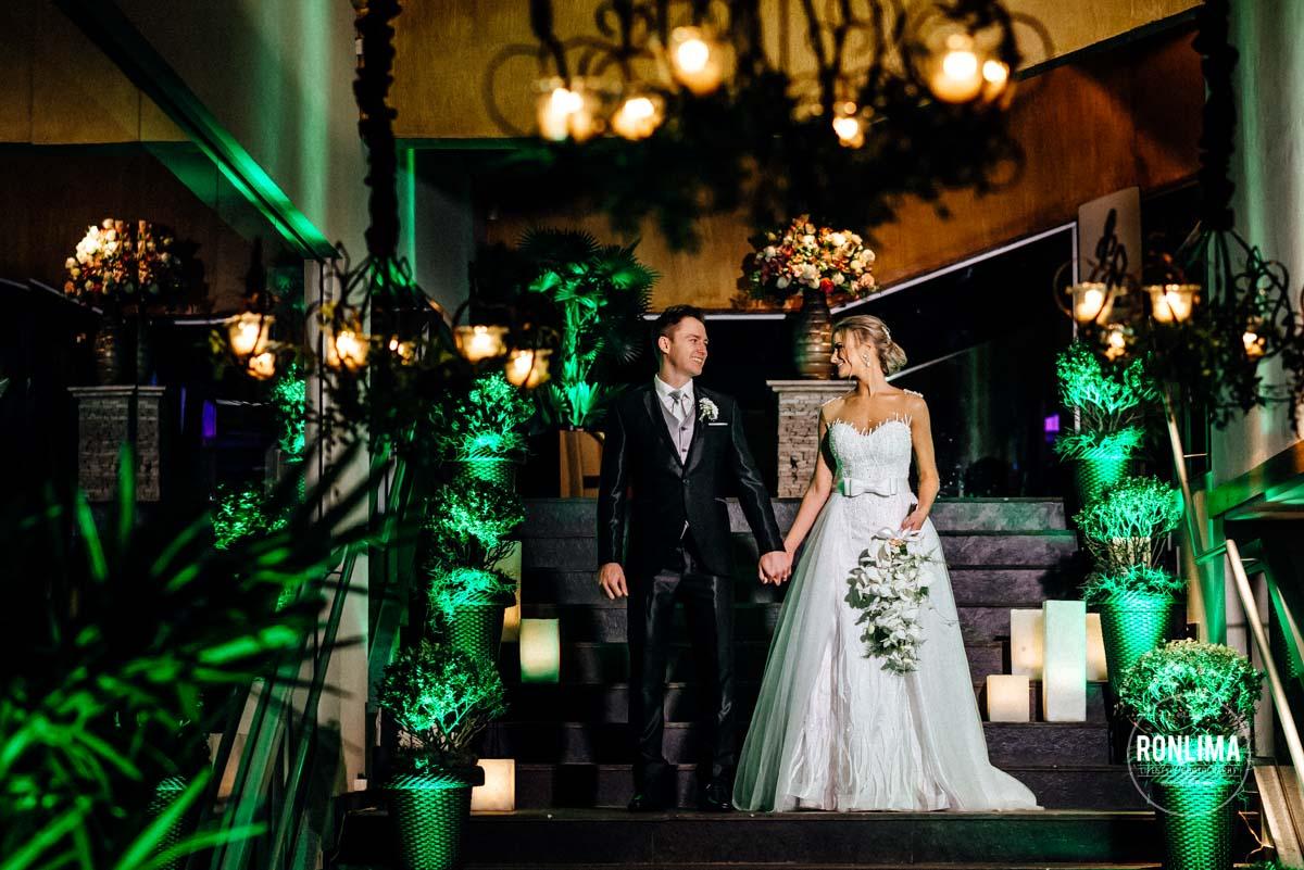 Ensaio dos noivos no dia do casamento em Passo Fundo