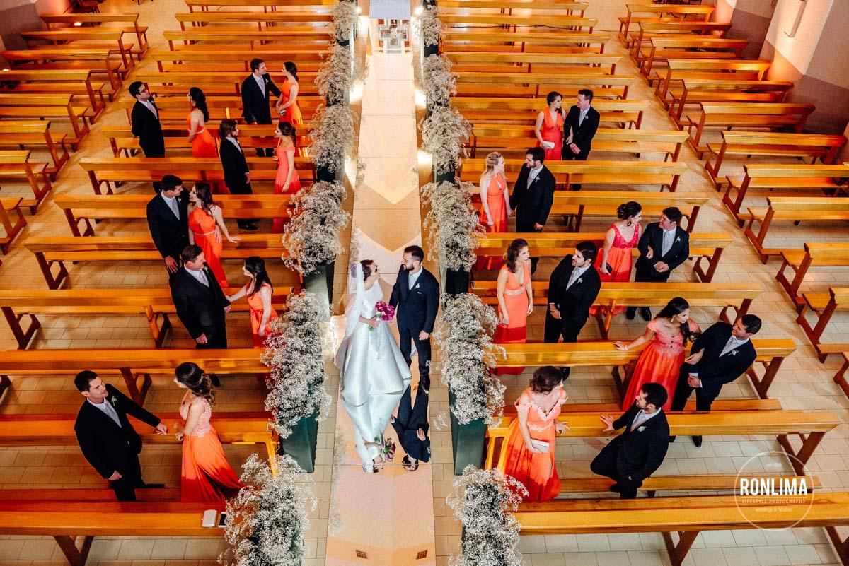 Ensaio dos noivos com os padrinhos de casamento