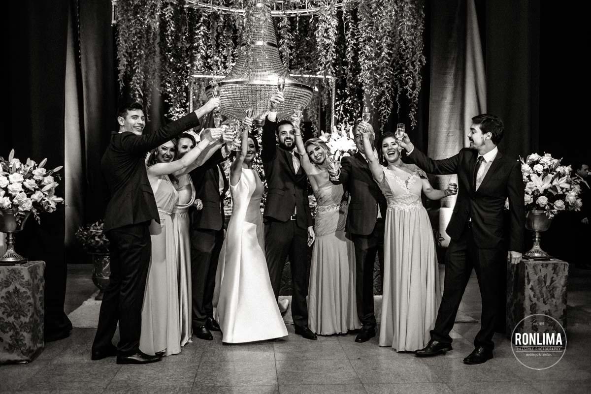 Recepção de casamento em Carazinho