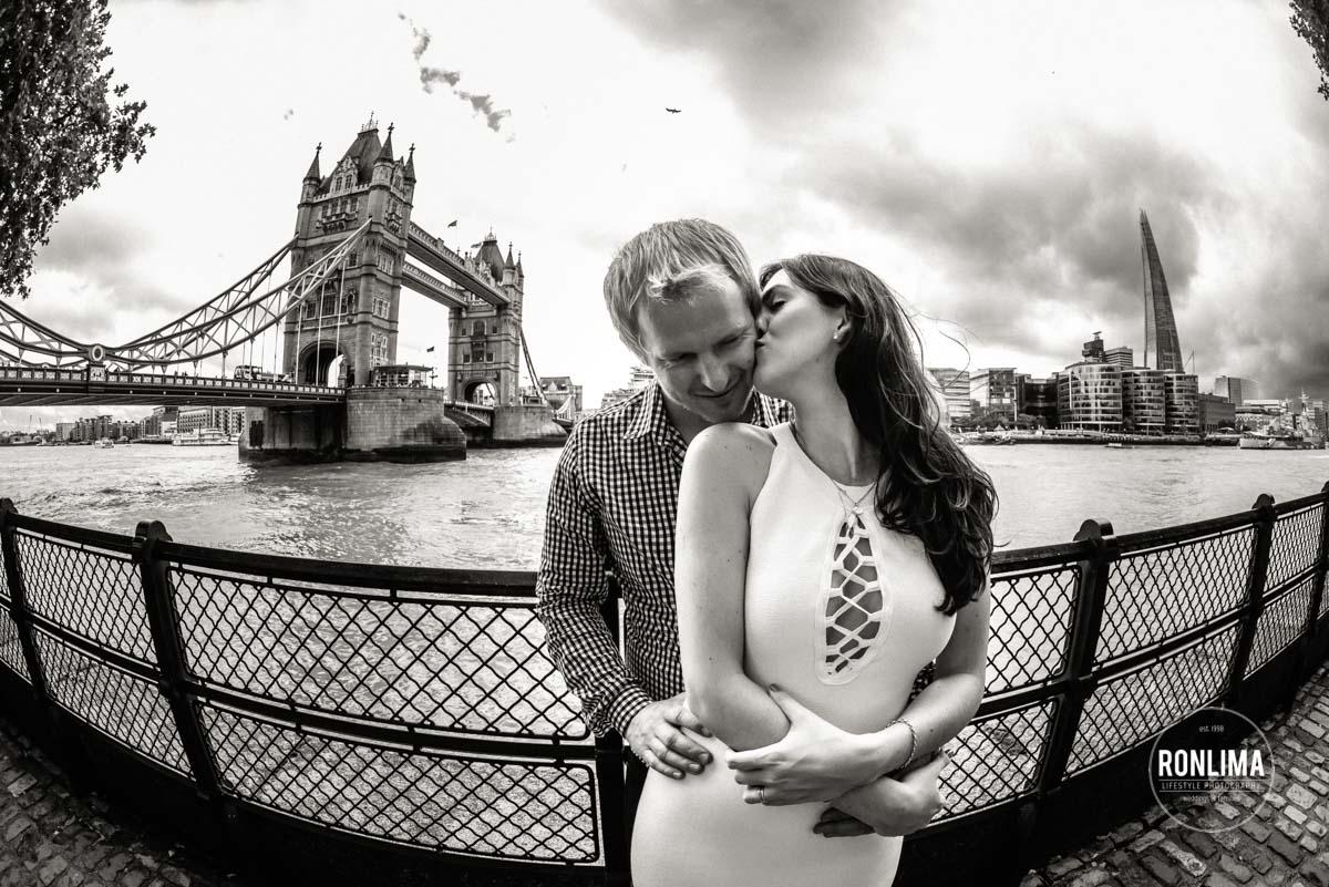Ensaio de casal em Londres, Europa