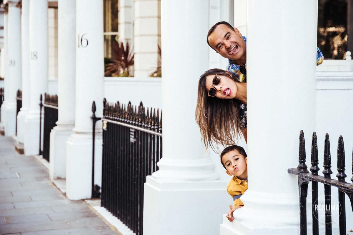Fotos de Família em Londres