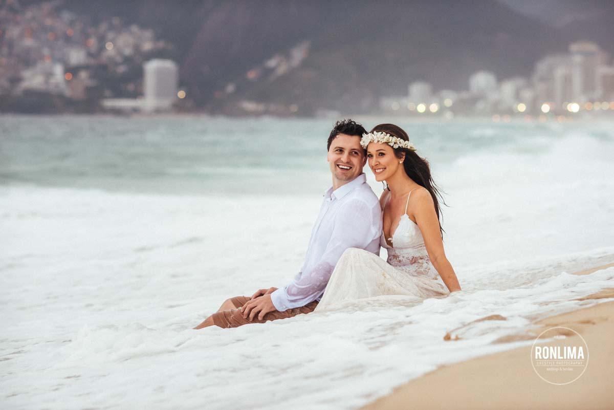 foto pré casamento no Arpoador, Rio de Janeiro
