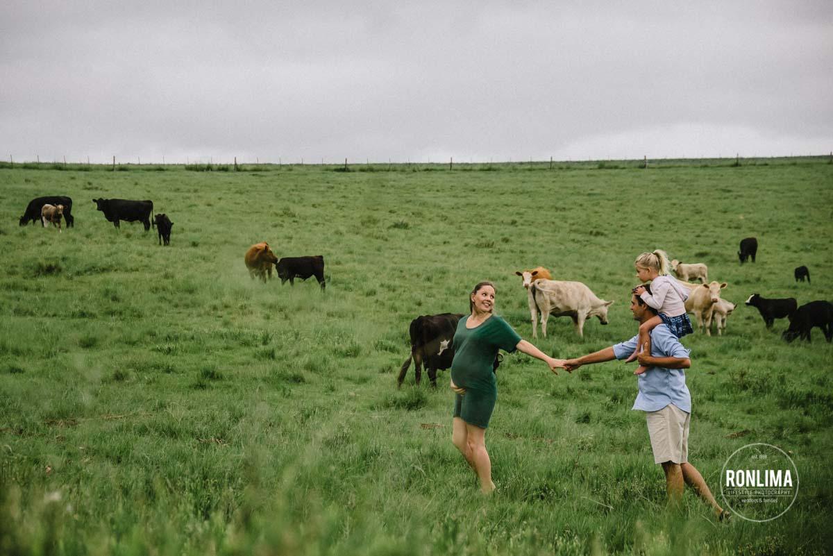 Ensaio Gestante na Fazenda